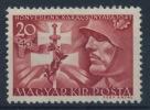 **Hungary 1941 Mi 686 20+40 Filler Soldier MNH - Ungebraucht