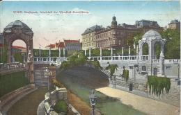AK 0383  Wien - Stadtpark / Abschluß Der Wienfluß-Einwölbung Um 1912 - Vienna Center
