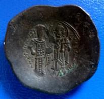 ANDRONICUS Ier COMNÈNE - ASPRON TRACHY - SCYPHATE - TRÈS RARE DANS CET ÉTAT DE CONSERVATION - MAGNIFIQUE   (349) - Byzantines