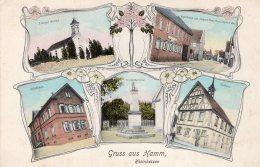 V2746 Cpa Allemagne -  Gruss Aus Hamm, Rheinhessen - Hamm