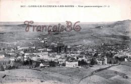 (39) Lons Le Saunier Saulnier Les Bains - Vue Panoramique - 2 SCANS - Lons Le Saunier
