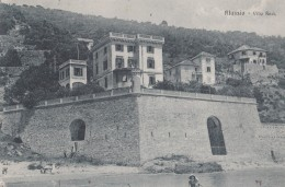 ALASSIO-VILLA RESI- VG 1920-BEN CONSERVATA-VEDI OFFERTA SPECIALE IN SPESE DI SPEDIZIONE-2 SCAN- - Savona