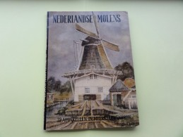Boekje  *   Nederlandse Molens  - 32 Aquarellen In Meerkleurendruk  - Leen Molendijk (Molen - Moulin) - Oud