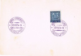 17461. Frontal HORICE V PODKRKONOST (checoslovaquia) 1934. Exposicion Resistencia - Checoslovaquia