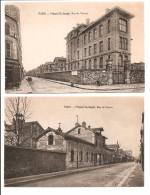 75 - 15è - 2 Cartes, Hôpital St Joseph - Arrondissement: 14
