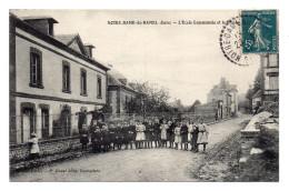 27 Notre Dame Du Hamel . L'ecole Communale Et Le Presbytere - Altri Comuni