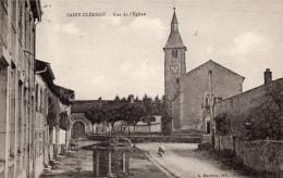 54 MEURTHE ET MOSELLE - SAINT CLEMENT Rue De L´Eglise - France