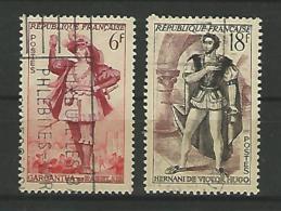 France YT° 943-944 - Usados