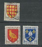 France YT° 999-1005 - Usados