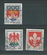 France YT° 1180-1184 - Usados