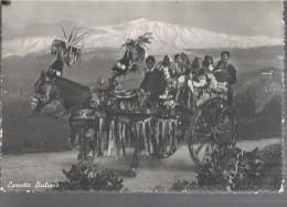 CARRETTO SICILIANO - PANORAMA.VIAGGIATA .-1952.FP-I253-M - Folklore