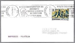 VI RUTA CICLOTURISTA DEL ROMANICO - Cyclotourist. Pontevedra, Galicia, 1988