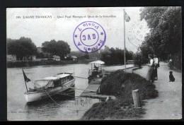 77, LAGNY THORIGNY, QUAI PAUL MOREAU ET QUAI DE LA GOURDINE - Lagny Sur Marne