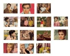 MARISOL  UN RAYO DE LUZ - Lote 13 Cromos N° 4,24,35,37,39,53,64,66,79,85,99,139,140 -  Editorial Fher 1960 - Sin Pegar - - Otros