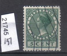 Niederlande, Mi. 151 O - Oblitérés