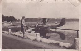 PHOTO Originale 138 Mm X 86 Mm AVION HYDRAVION Vers 1935 Peut être Vers Lyon - Photos
