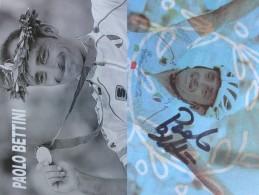 Cyclisme - Paolo BETTINI - Signé De - Dédicace - Hand Signed - Autographe Authentique  - - Wielrennen