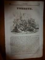 1835 LM :Turenne (grav Lacoste Ainé); RUBENS;Usage Des Carosses;Le CRABE...etc - Books, Magazines, Comics
