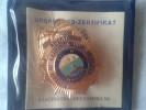 Collectible US Badge Insigne Police Agent Bureau Of Criminal Investigation Tenesse COA Certificat - Police