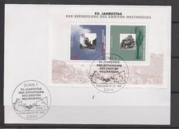 ALLEMAGNE   Carte  FDC 1995  Guerre - Guerre Mondiale (Seconde)