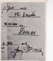 Austria Tabak - Sammelbild Adolf Hitler Und Sein Weg Zu Großdeutschland - Unterschriften Holzweber, Planetta ... (22507) - Cigarette Cards