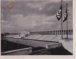 Austria Tabak - Sammelbild Adolf Hitler Und Sein Weg Zu Großdeutschland - Zeppelinfeld Nürnberg (22509) - Cigarette Cards