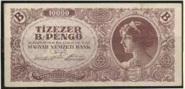 HUNGARY 1946 10.000 B-PENGÖ.  1 - Hungary