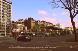 PARIS XV- Boulevard Victor à Hauteur De La Station Desnouettes (EDITION A TIRAGE LIMITE) - Arrondissement: 15