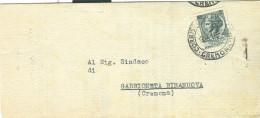 C.G.I.L - CREMONA, SINDACO GABBIONETA BINANUOVA,1956,  ELEZIONI, - Vecchi Documenti