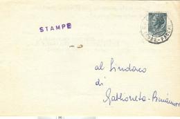 ASSOCIAZIONE  ITALIA-URSS - CREMONA, SINDACO GABBIONETA BINANUOVA,1956,  ELEZIONI, - Vecchi Documenti
