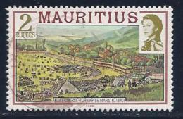 Mauritius, Scott # 458a Used Race Course, 1989 - Mauritius (1968-...)