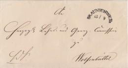 Braunschweig Brief Gel. Am 15.9. Nach Wolfenbüttel - Braunschweig