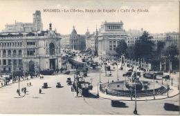 MADRID  La Cibeles Banco De Espana - Unused TTB - Madrid