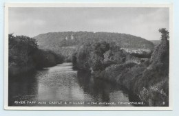 Tongwynlais - River Taff With Castle & Village - Glamorgan
