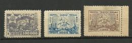 TRANSKAUKASIEN Kaukasus 1923 Michel 19 & 22 - 23 *