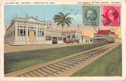 "05144 ""SANTIAGO DE CUBA - LA CUNA DEL BACARDI - THE CRADLE OF THE FAMOUS BACARDI"" CART. POST. ORIG. SPEDITAN 1926. - Cuba"