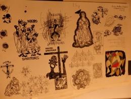 PIERRE FOURNIER (LA VIE DES GENS/HARA-KIRI) NEGRO SPIRITUAL NON SIGNÉ FIN ANNÉES 50 PÉRIODE ENSAD 35cm X 28,50cm - Books, Magazines, Comics