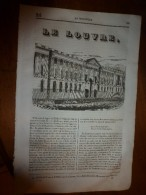 1835 LM :LOUVRE;Mercure D'Idria (Frioul) ,d'Amalden (Esp);Le COTINGA;Destruction Des Janissaires;Jeux Floraux D'Isaure - Livres, BD, Revues