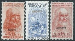 1952 TRIESTE A LEONARDO DA VINCI MNH ** - G155 - 7. Trieste