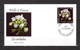 """WALLIS ET FUTUNA 2005 : Enveloppe 1er Jour  """" ORCHIDEES """". N° YT 648. Parfait état. FDC - Orchidées"""