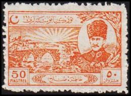 1924. Mustafa Kemal Pascha. 50 PIASTRES (Michel: 804) - JF193702 - 1921-... République