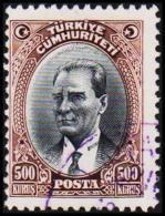 1930. MUSTAFA KEMAL PASCHA. 500 KURSUS.  (Michel: 912) - JF193791 - 1921-... République