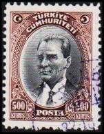 1930. MUSTAFA KEMAL PASCHA. 500 KURSUS.  (Michel: 912) - JF193790 - 1921-... République