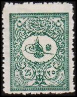 1901. 25 PIASTRES. (Michel: 106) - JF193752 - 1921-... République