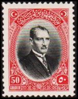 1926. MUSTAFA KEMAL PASCHA 50 GROUCH (Michel: 854) - JF193764 - 1921-... République