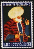 1941. BARBAROS HAYREDDIN 17½ KRS.  (Michel: 1109) - JF193776 - 1921-... République