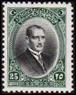 1926. MUSTAFA KEMAL PASCHA 25 GROUCH (Michel: 853) - JF193763 - 1921-... République