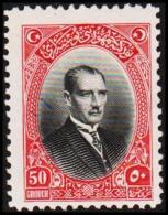 1926. MUSTAFA KEMAL PASCHA 50 GROUCH (Michel: 854) - JF193765 - 1921-... République