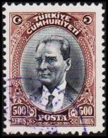 1930. MUSTAFA KEMAL PASCHA. 500 KURSUS.  (Michel: 912) - JF193788 - 1921-... République