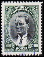 1930. MUSTAFA KEMAL PASCHA. 200 KURSUS.   (Michel: 911) - JF193784 - 1921-... République